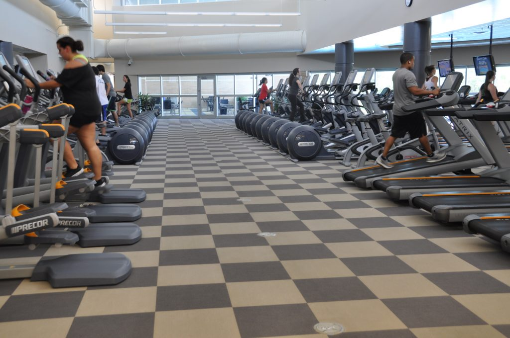 RWC (Main) Cardio Floor.