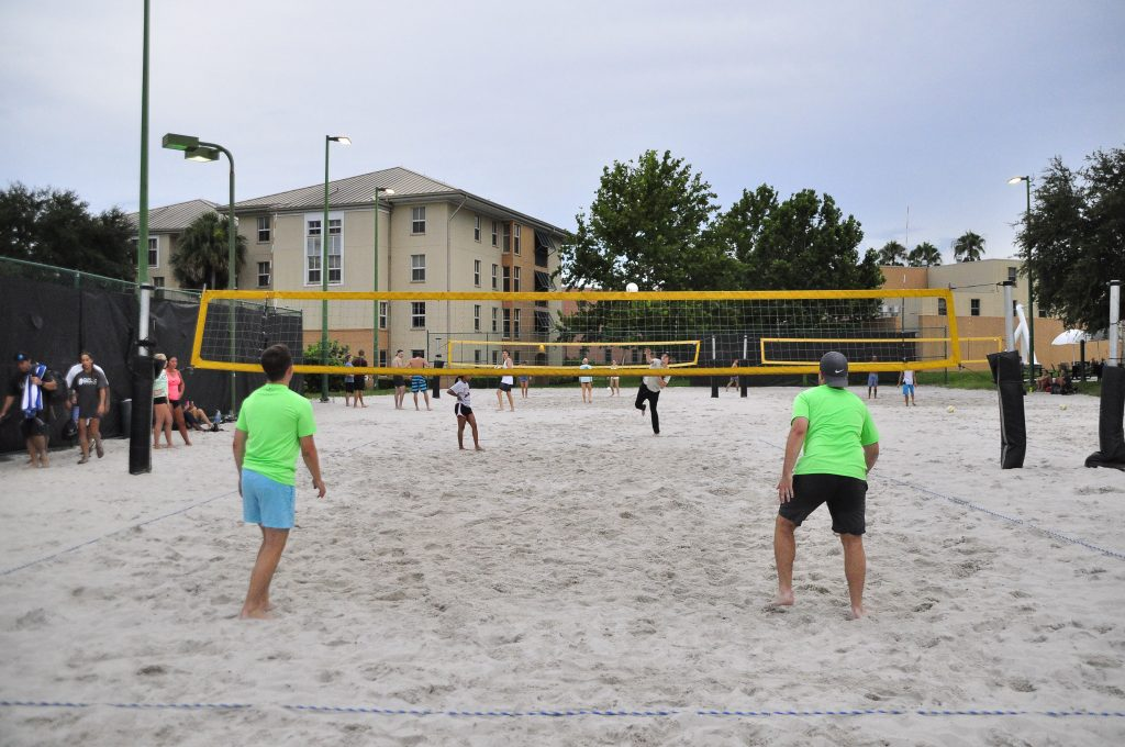RWC Sand Volleyball Courts by Libra Garage.