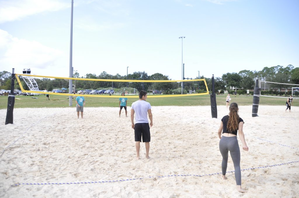 RWC Sand Volleyball Courts at Lake Clear.