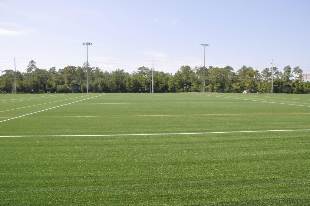RWC Park artificial turf field.