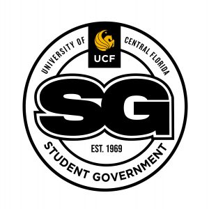 UCF Student Government in black and gold