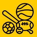 Thumbnail with soccer, baseball bat, football and basketball on it.